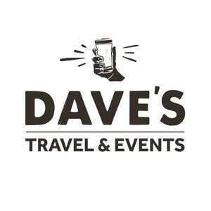 Dave's Travel and Events logo
